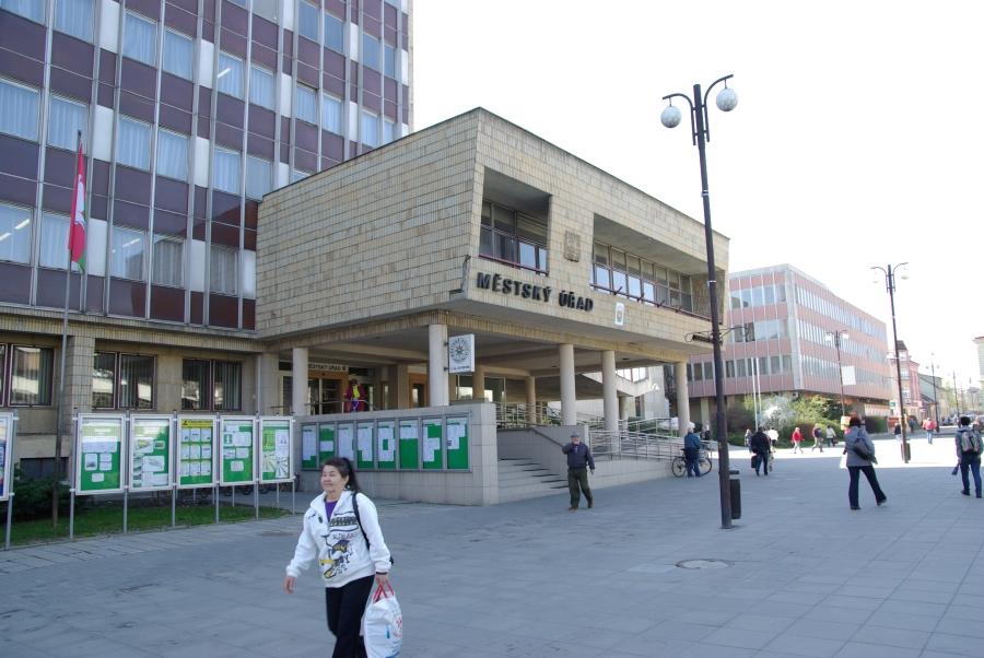 Budova radnice ve Vsetíně