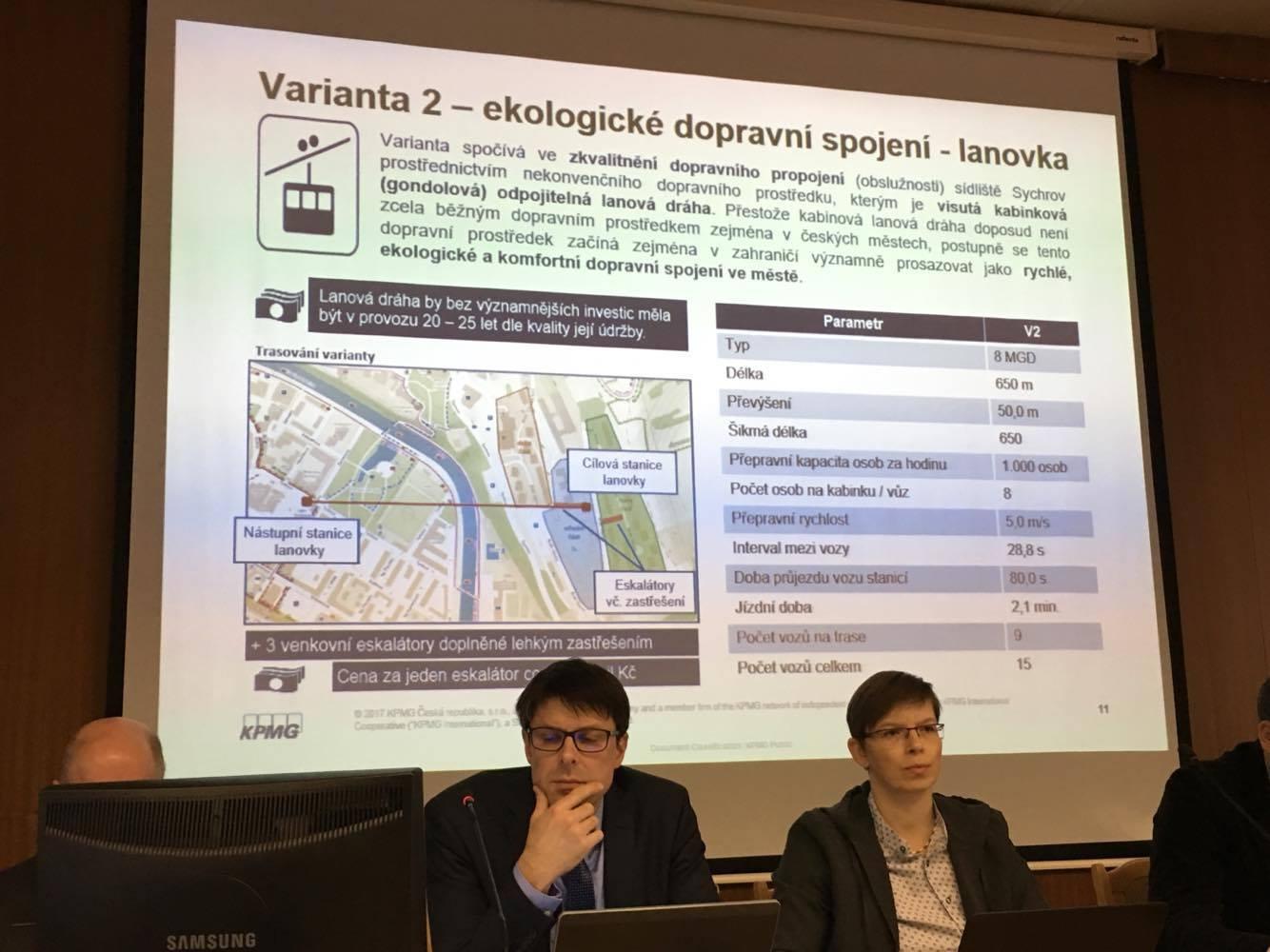 Jednání o lanovce na sídliště ve Vsetíně