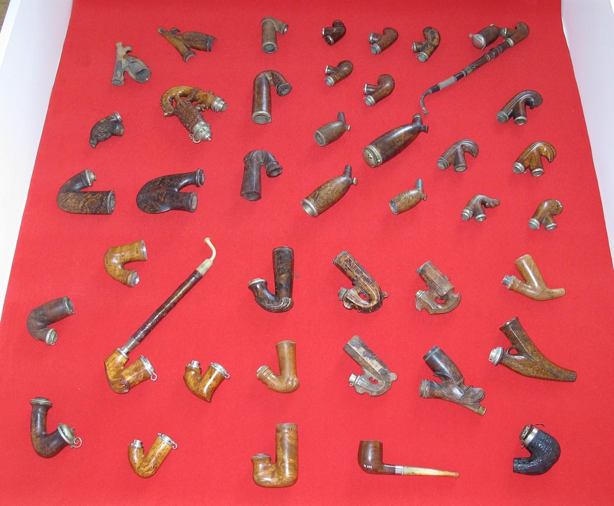 V Muzeu dýmkařství v Kelči uvidíte fajfky nejrůznějších tvarů a materiálů