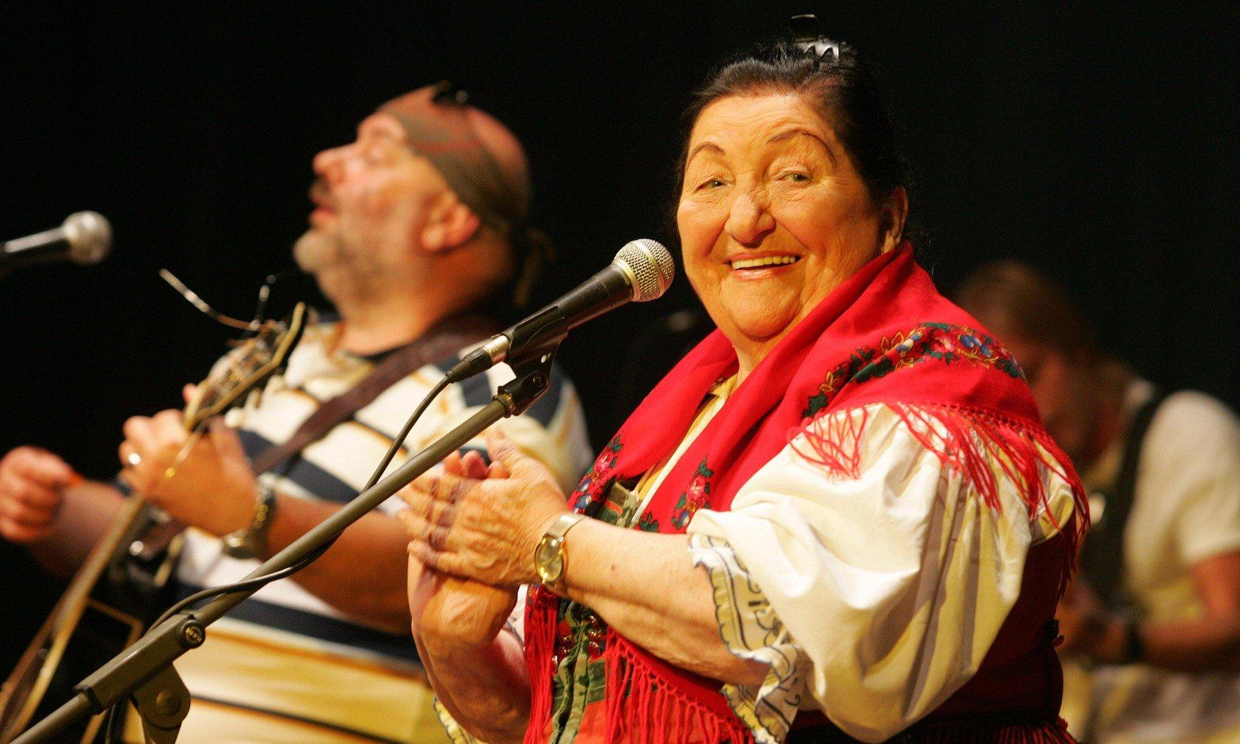 Jarmila Šuláková s kapelou Fleret