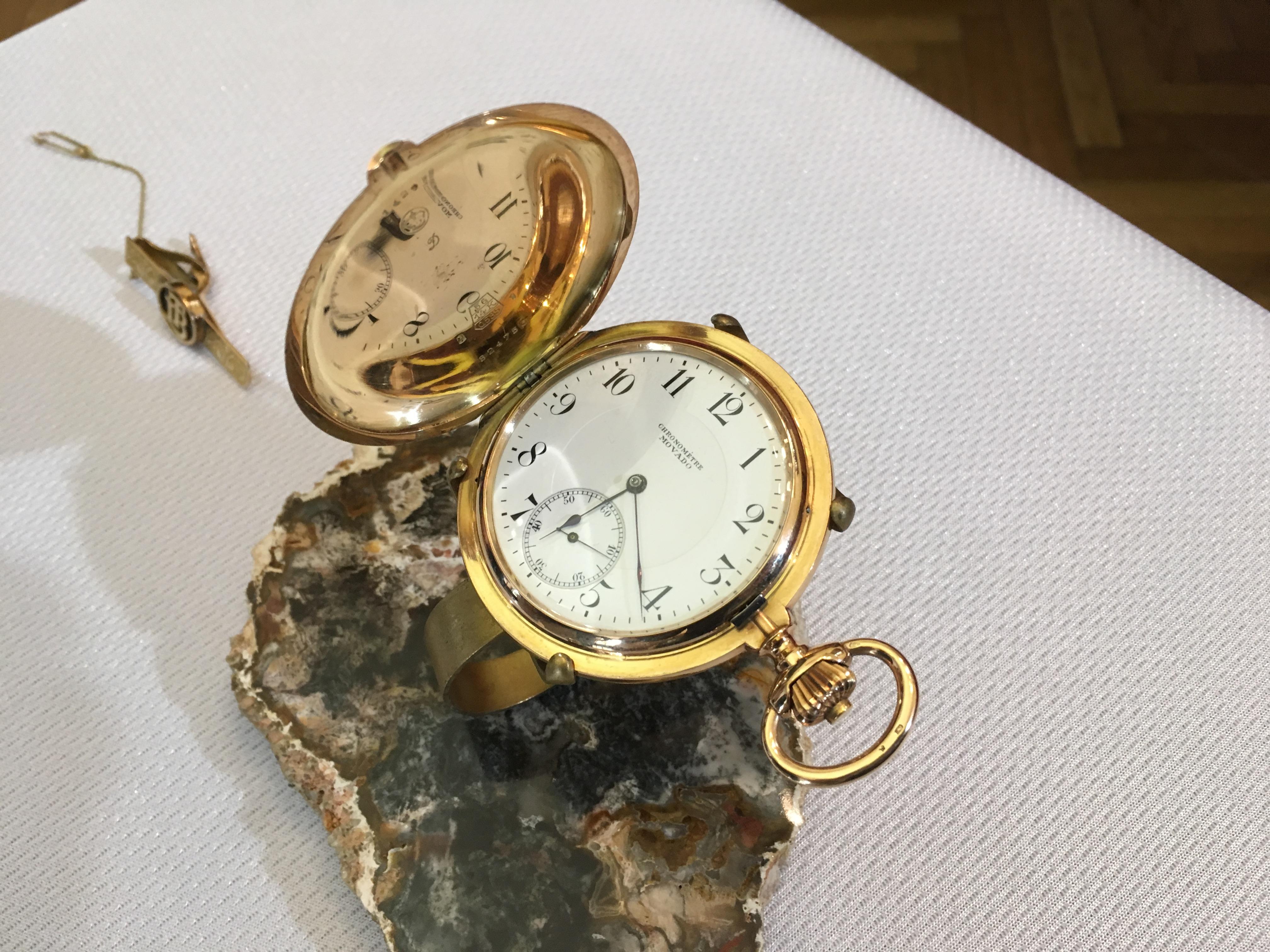 Zlaté hodinky Tomáše Bati