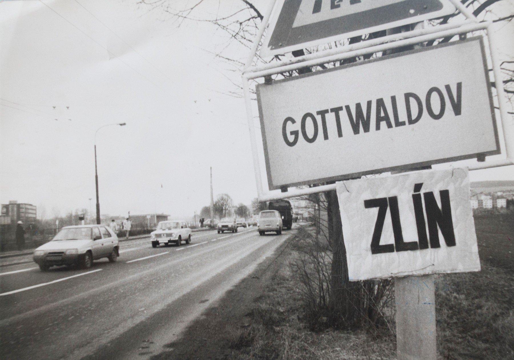 Zlín byl Gottwaldovem přesně 41 let