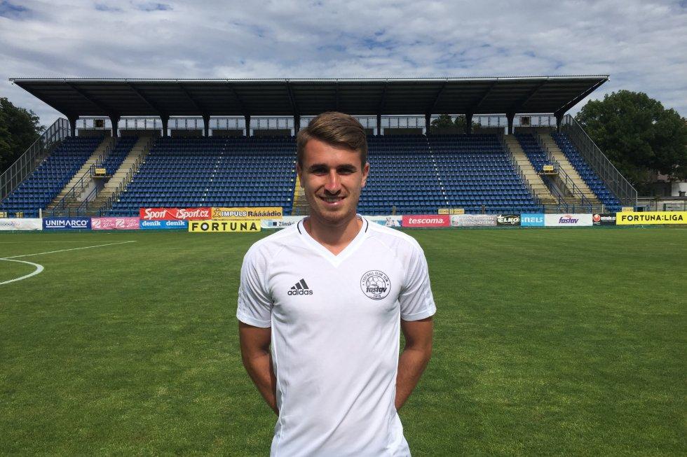 Fotbalista Dominik Mašek