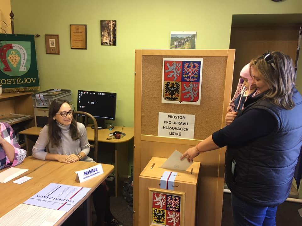 Volby v Hostějově