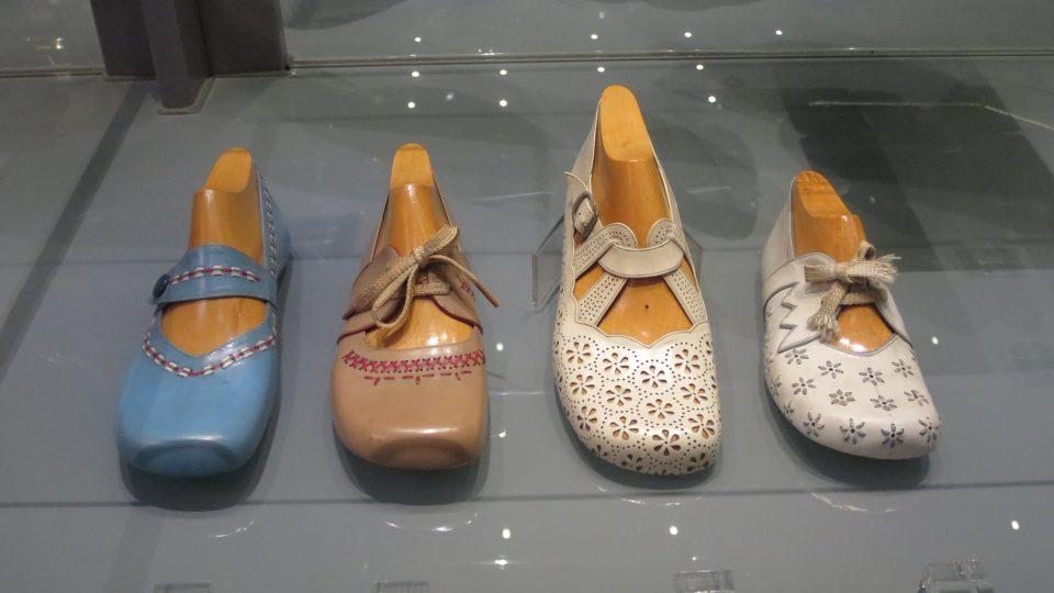 Obuvnické muzeum ve Zlíně je pastvou pro oči především pro dámy