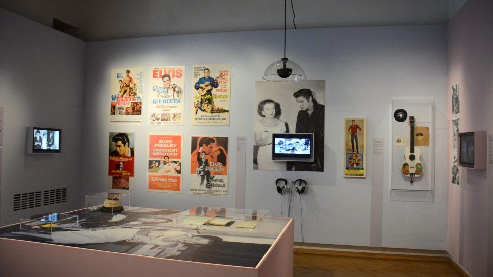 Z výstavy Trude a Elvis v Židovském muzeu ve Vídni