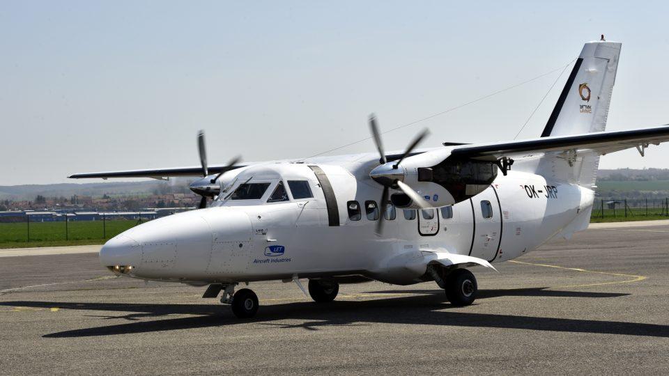 První sériově vyráběný letoun L-410 NG z Kunovic