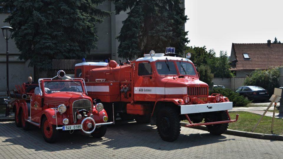 Sbor dobrovolných hasičů Kudlovice - historická cisterna