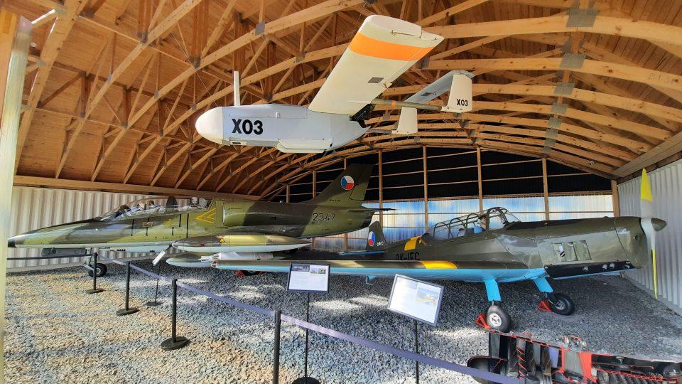 Letecké muzeum v Kunovicích na Uherskohradišťsku - přípravy na otevření v dubnu 2021
