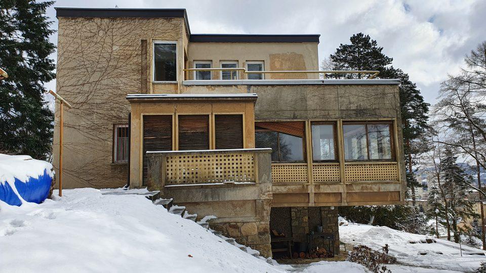 Vila Miroslava Zikmunda ve Zlíně