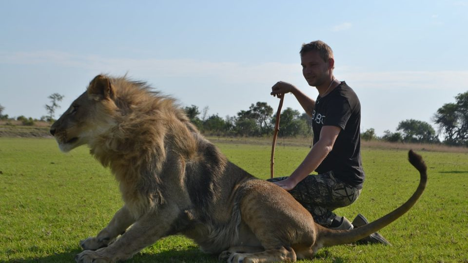 Zoolog Stanislav Cigánek - foto Afrika