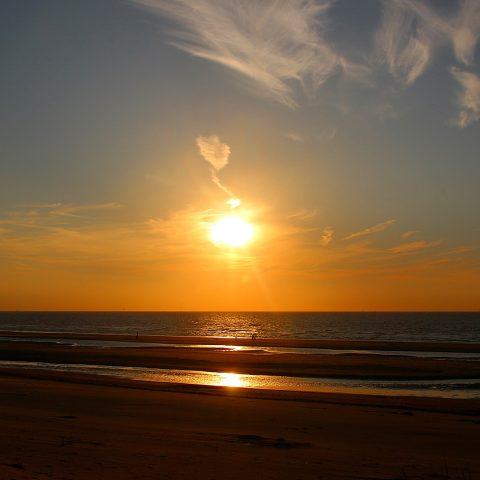 Západ slunce (ilustrační foto)