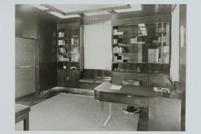 Archivní snímky z vily Jana Antonína Bati