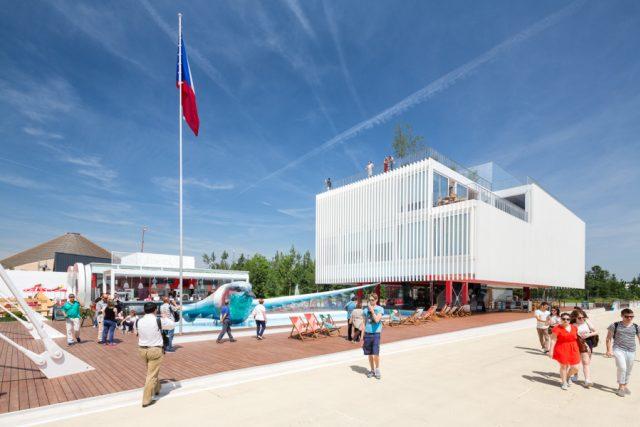 Český pavilon na výstavě Expo 2015 | foto: Koma Modular Construction