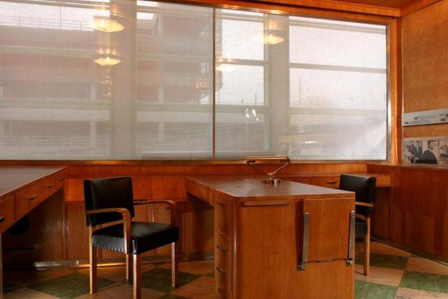 Pojízdná kancelář ve zlínském mrakodrapu