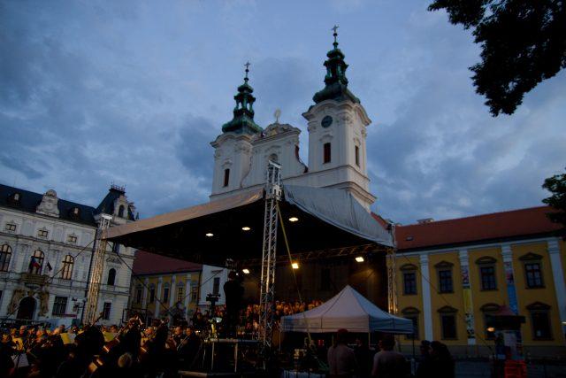 Carmina Burana na náměstí v Uherském Hradišti | foto: Tomáš Fránek