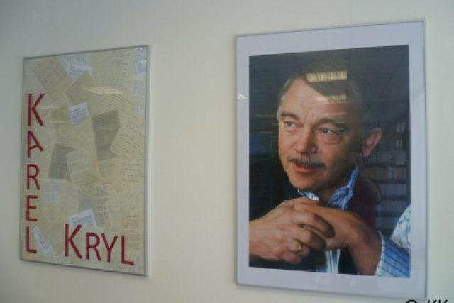 V klubu Starý pivovar je expozice Karla Kryla