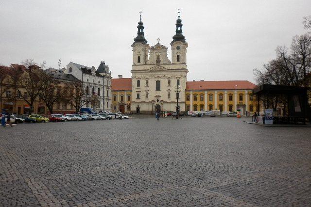 Masarykovo náměstí v Uherském Hradišti