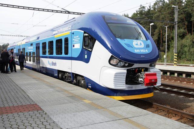 Nová vlaková souprava Regio-Shark