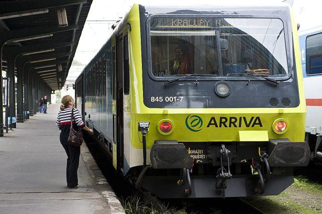 Společnost Arriva vlaky, zahájila zkušební provoz na trase Kralupy nad Vltavou – Praha Masarykovo nádraží