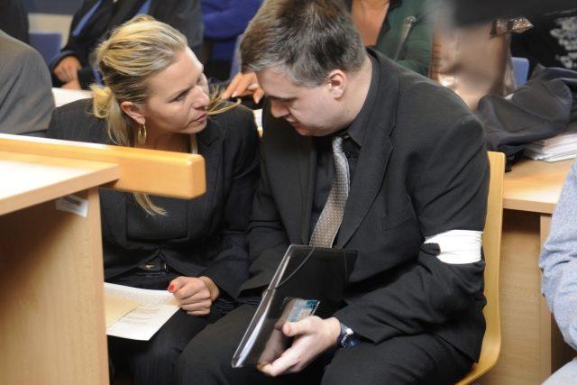 Krajský soud ve Zlíně začal projednávat metanolovou kauzu hlavní, takzvané zlínské větve, na snímku obžalovaný Tomáš Křepela