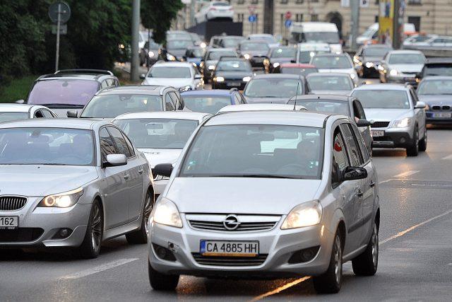 Doprava, dopravní zácpa, auto, kolona