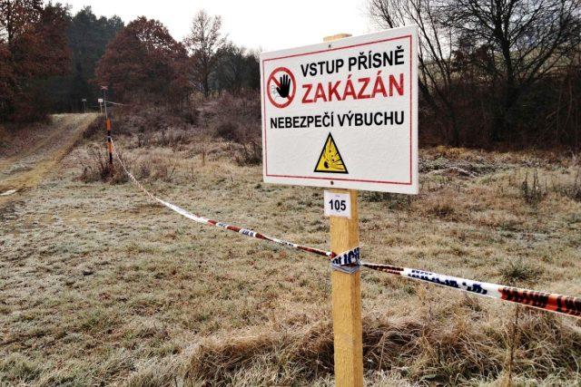 Bezpečnostní zóna u Vrbětic  (archivní foto)   foto: Roman Verner,  Český rozhlas,  Český rozhlas