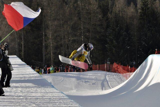 Šárka Pančochová na mistrovství světa v rakouském Kreischbergu