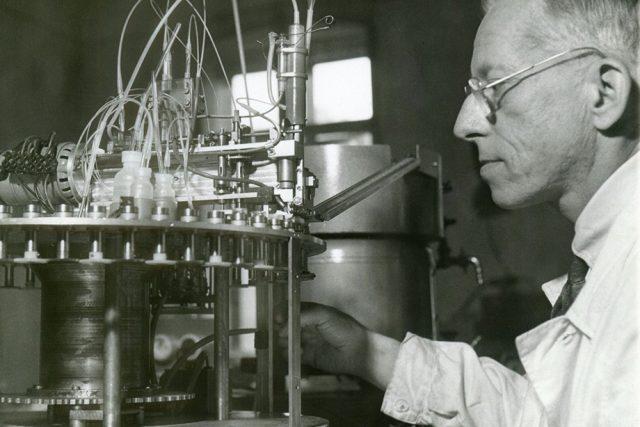 Otto Wichterle  (1913 – 1998) | foto:  Akademie věd ČR