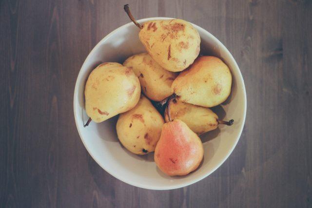 Hrušky,  ovoce,  mísa,  potraviny  (ilustrační foto) | foto: Fotobanka Pixabay