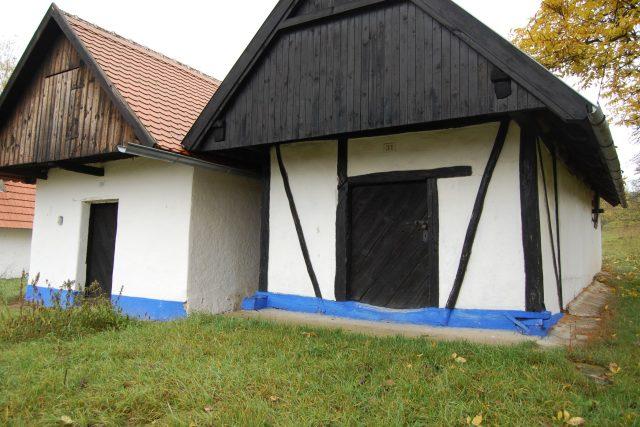 Soubor 35 vinohradnických búd ve vesnici Vlčnov na Uherskohradišťsku | foto: Saskia Mišová,  Český rozhlas