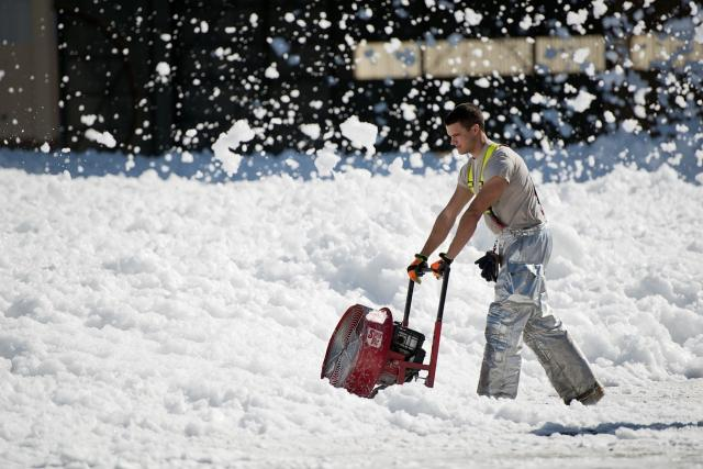 Sněžná fréza (ilustrační foto)