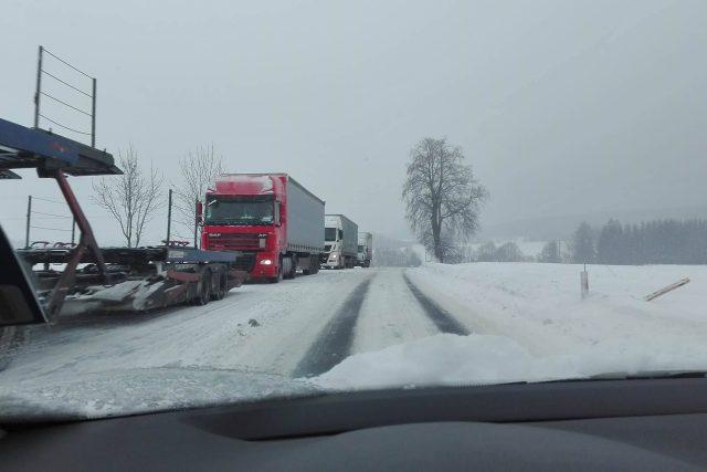 Doprava, sníh