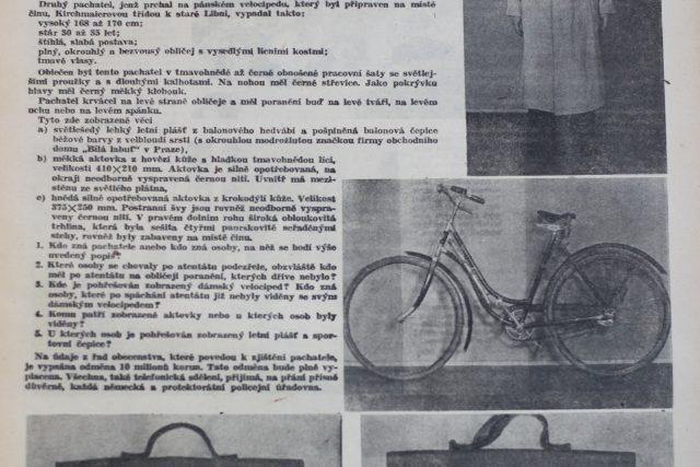 Reprodukce z Týdeníku rozhlas (květen 1942)