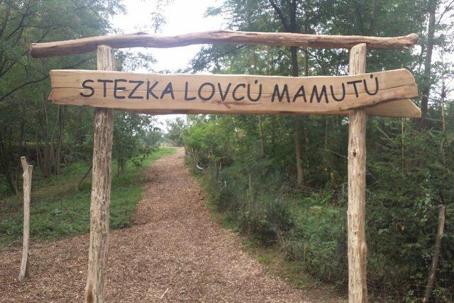 Nová Stezka lovců mamutů v Boršicích.