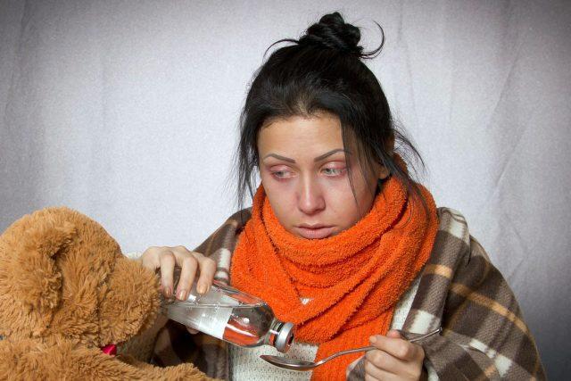 chřipka není rýma