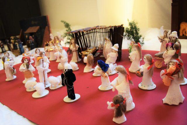 Vánoční ozdoby v Holešově