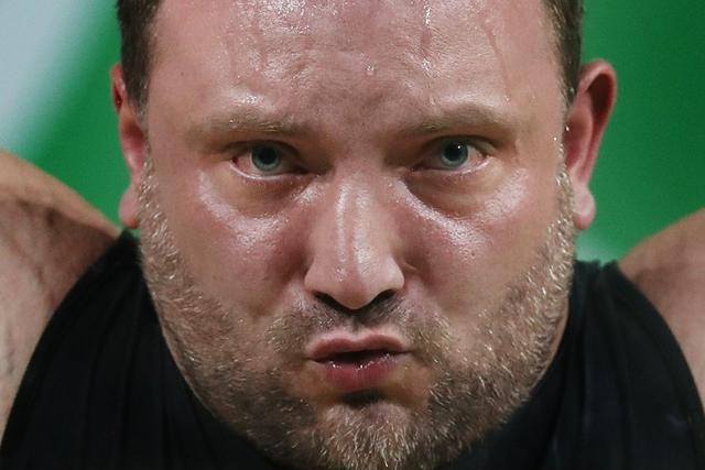 Jiří Orság při soutěži