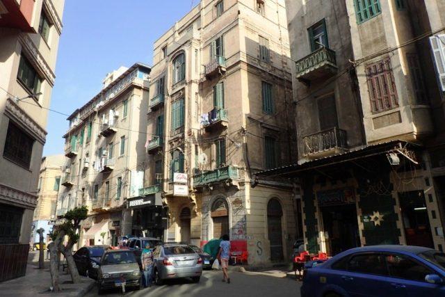 Stará zástavba v Alexandrii | foto: Štěpán Macháček,  Český rozhlas