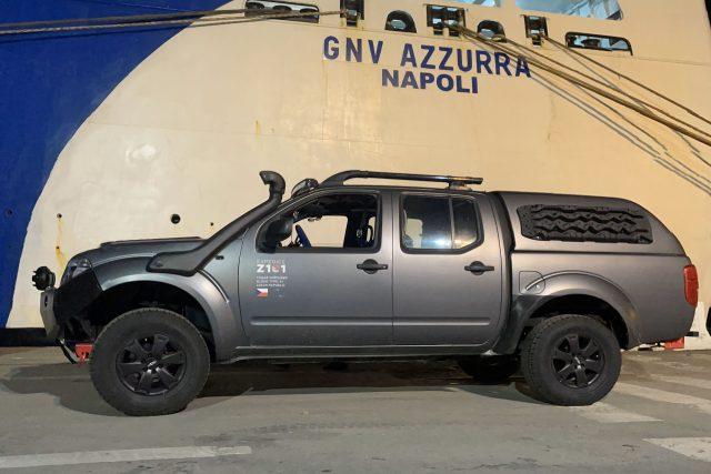 Expedice Z101 Trajekt Janov-Tunis (květen 2021)
