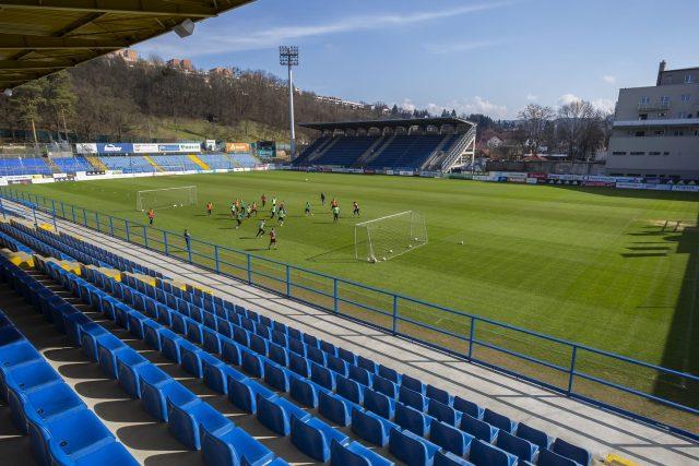 Zlínský fotbalový stadion na Letné