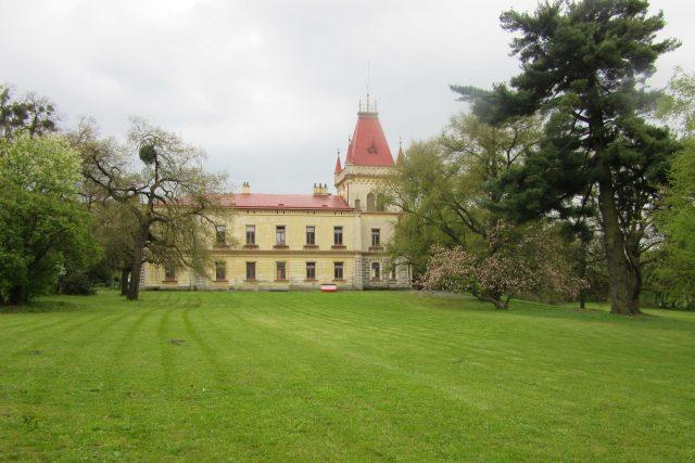 Zámecký park v Přílepích
