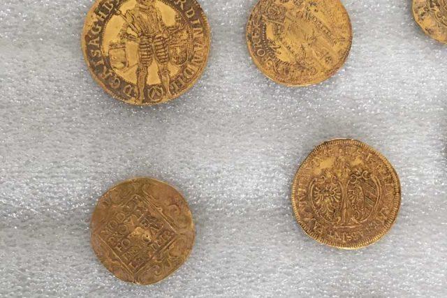 Zlatý poklad z Hostýnských vrchů
