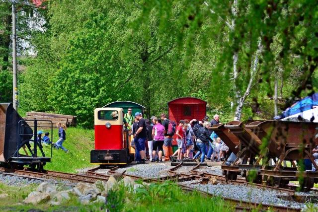 Lesní železnice v Rajnochovicích