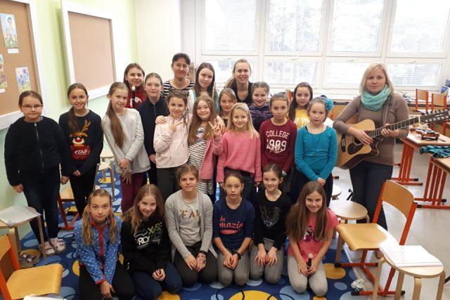 Moravské děti z Církevní základní školy ve Zlíně