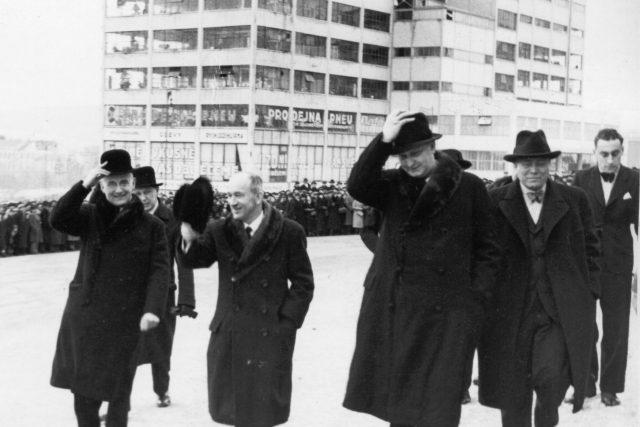Edvard Beneš, Dominik Čipera, Jan Antonín Baťa, Hugo Vavrečka