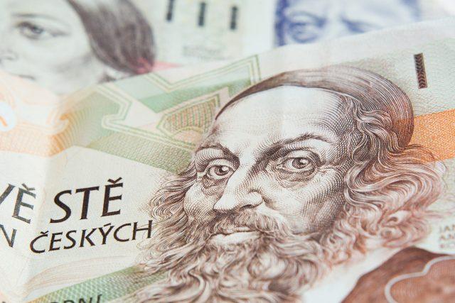 Peníze, bankovky, ekonomika, koruna
