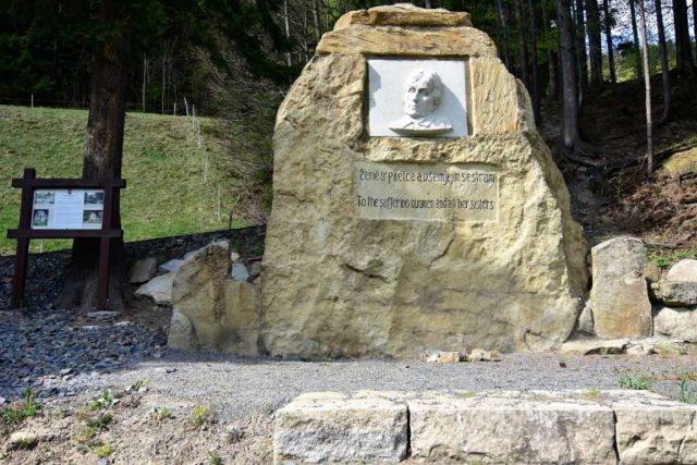 Památník Charlotty G. Masarykové ve Vsetínských Beskydech