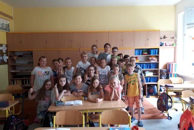Děti ze Základní školy Slovenská ve Zlíně