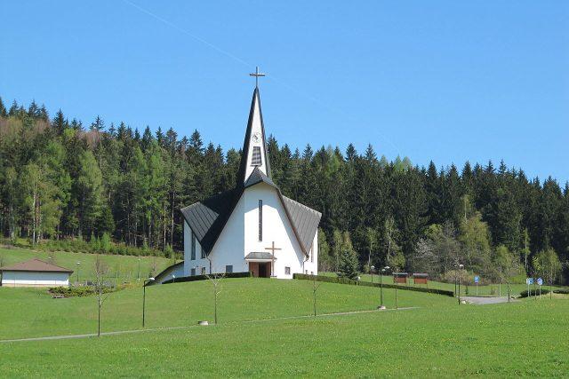 kostel sv. Zdislavy Prostřední Bečva